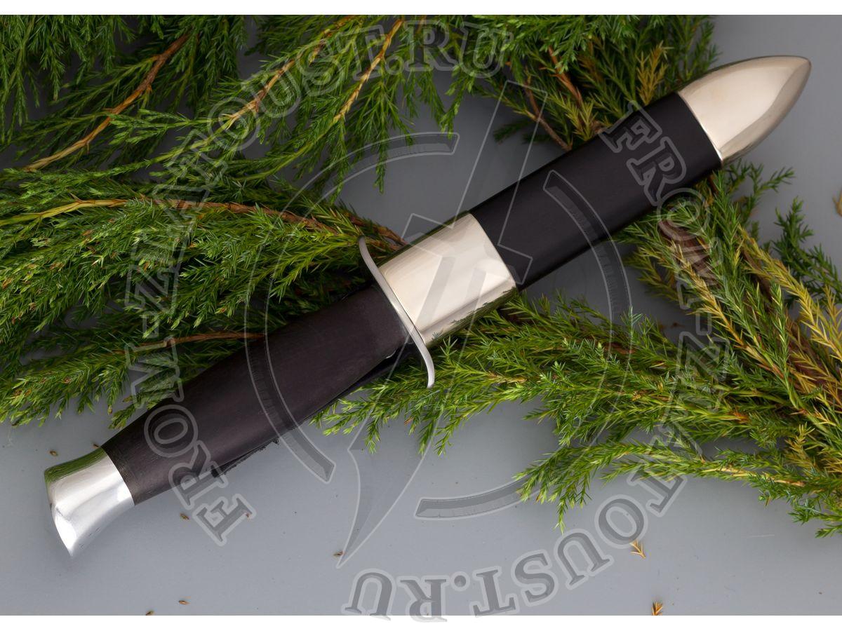 Ножны комбинированные к ножу Финка-2. Мельхиор