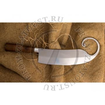Гиймякеш. (габалинский нож). Рукоять орех. Сталь У-8. 1шт.
