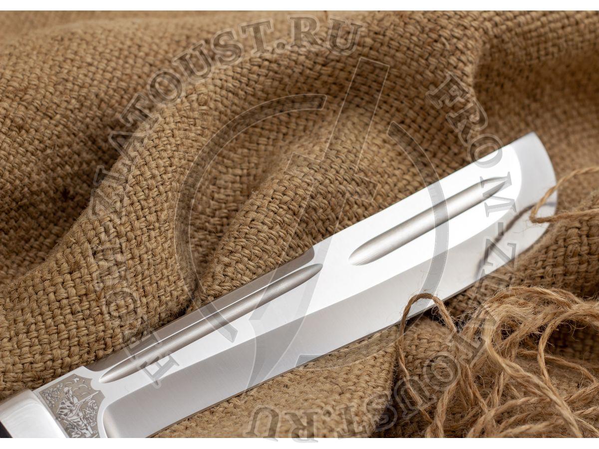 Ицыл. Рукоять карельская береза. Сталь 95Х18