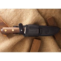 Ножны дополнительные кожаные к ножу Ирбис