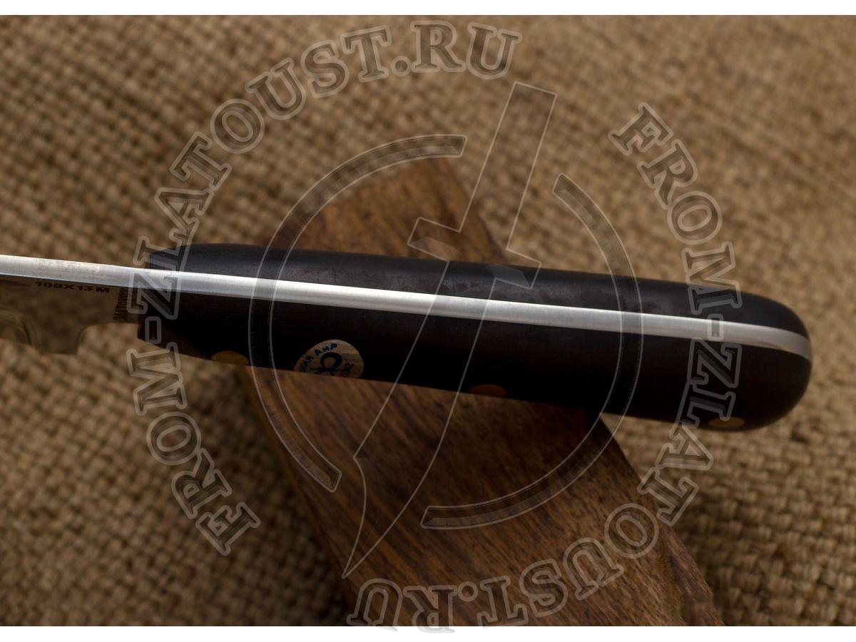 Пчак-Н. Рукоять граб. Цельнометаллический. Сталь 95Х18