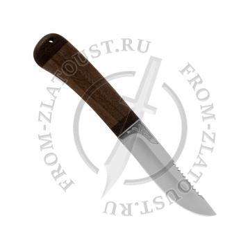 Робинзон-2. Рукоять орех. Сталь 95Х18
