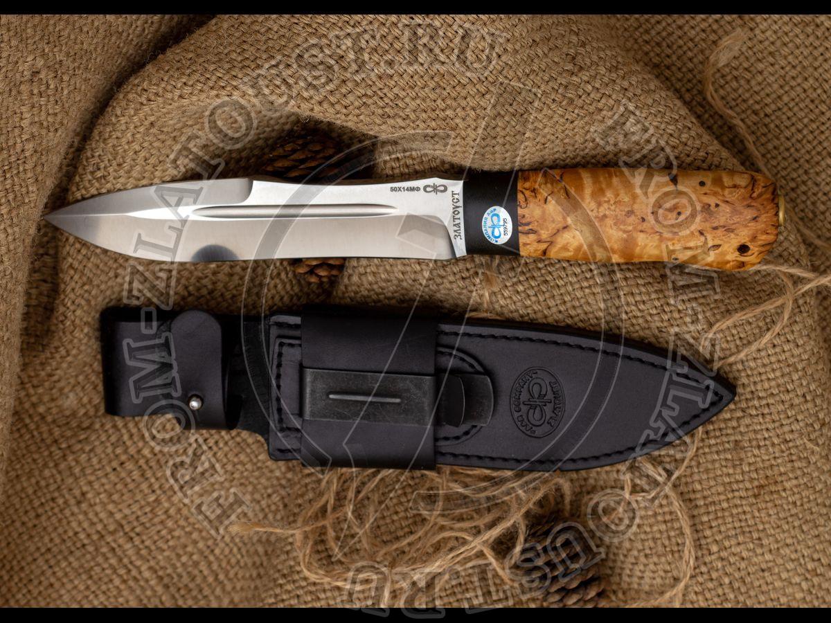 Скорпион. - дополнительные кожаные ножны к ножу
