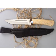 Ножны дополнительные кожаные к ножу Бекас