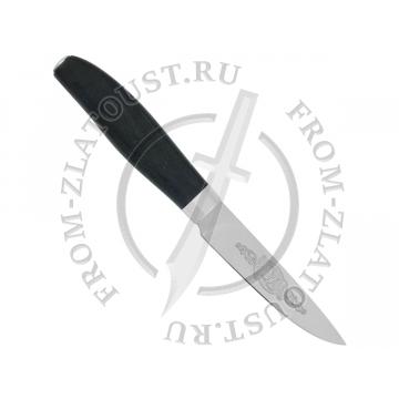 Овощной малый. Стабилизир. карельская береза. Сталь 95Х18. Зеленый