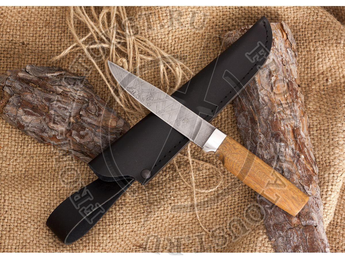 Нож булатный Лапшина №2