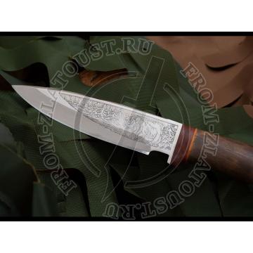 НС-25. Рукоять березовый кап. Сталь ЭИ-107