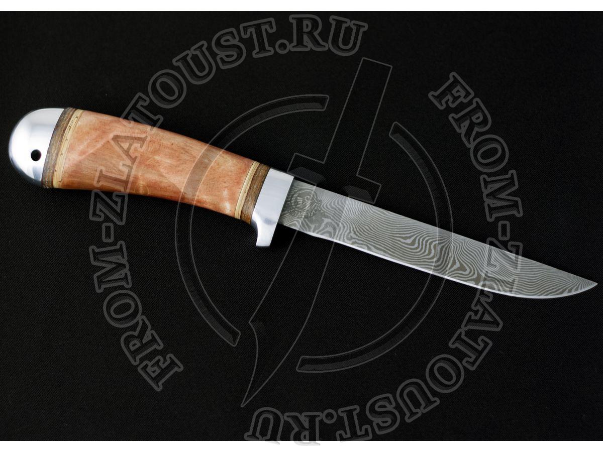 НС-43. Рукоять кап. Дамаск-гибрид