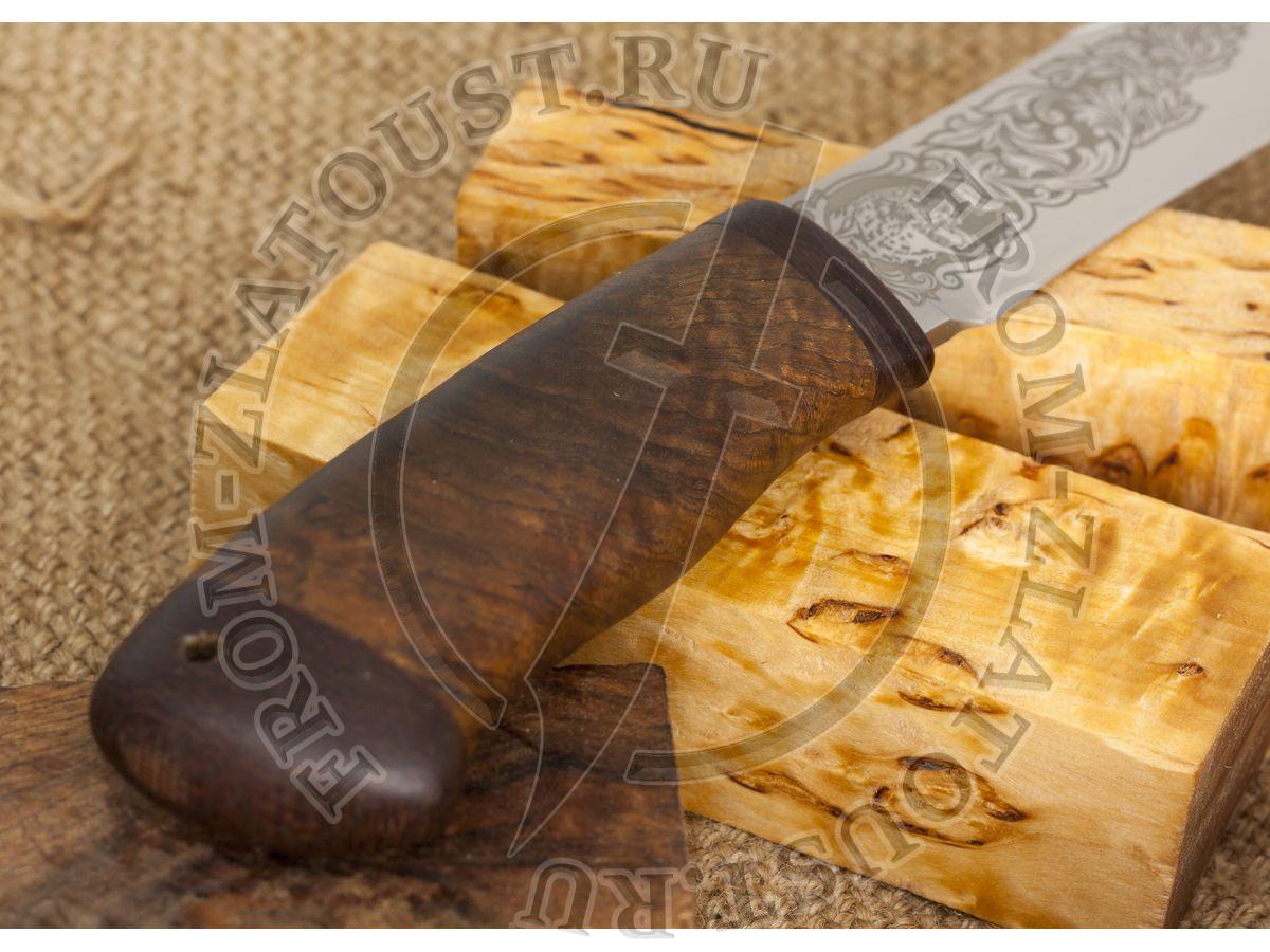 Акела. Рукоять орех. Сталь 95х18
