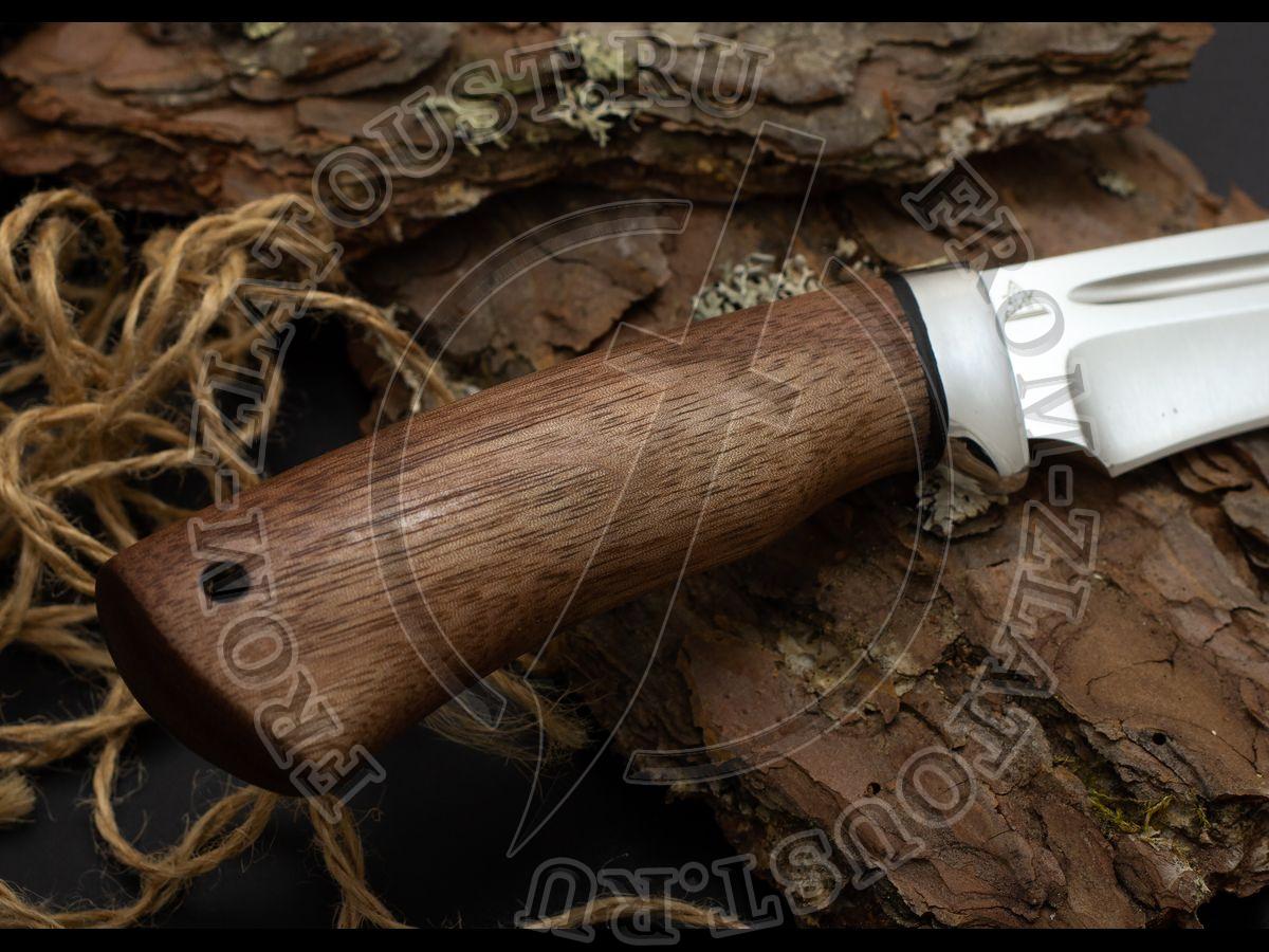 Кондор-2. Рукоять орех. Алюминий. Сталь 95Х18