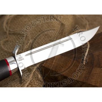 Нож разведчика. Рукоять граб. Алюминий. Сталь 95х18