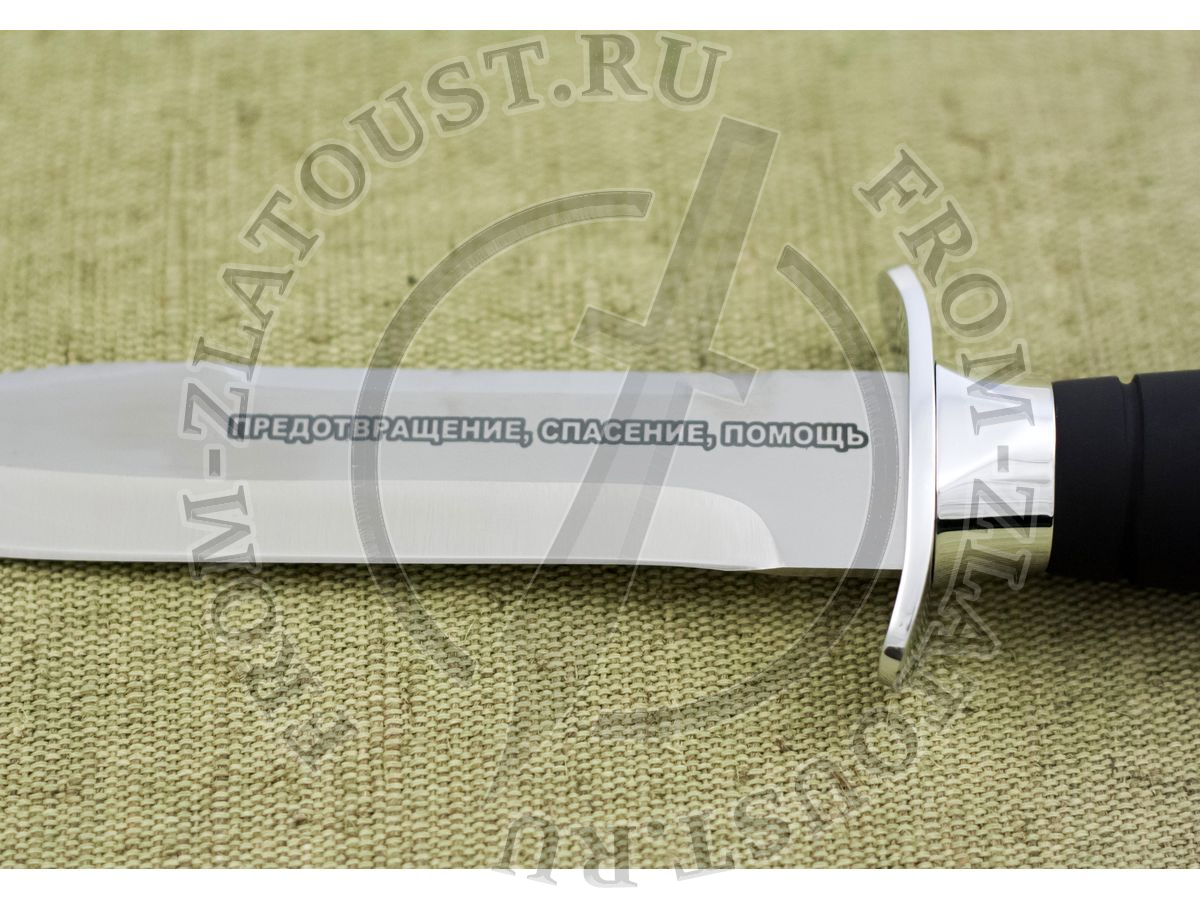Патриот. Рукоять орех с полимерным покрытием. Сталь ЭИ-515