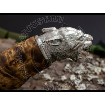 Горностай-1 подарочный. Рукоять карельская береза. Литье Барс. Сталь 100х13м