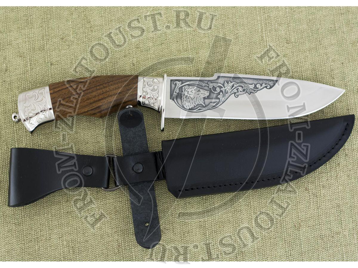 Горностай-1. Рукоять орех. Сталь ЭИ-515