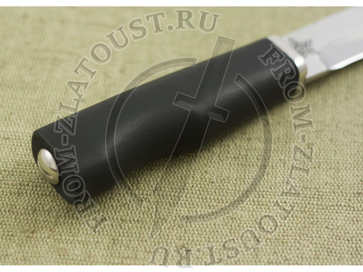 Армейский. Рукоять полимерное покрытие. Сталь ЭИ-515