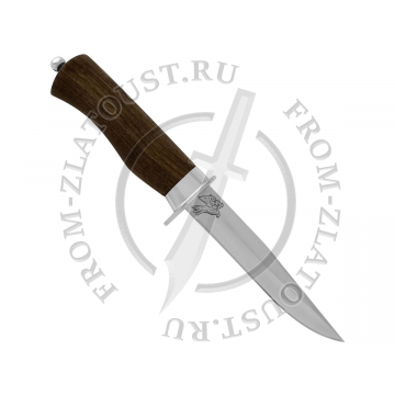 Ворон-1. Рукоять орех. Сталь ЭИ-515