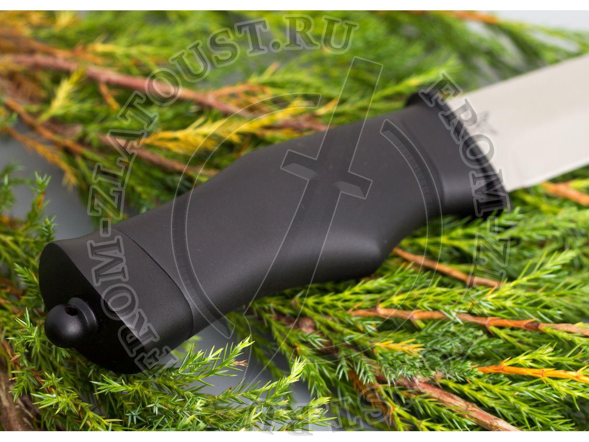 Спец. Рукоять, гарда, тыльник полимерное покрытие. Сталь ЭИ-515