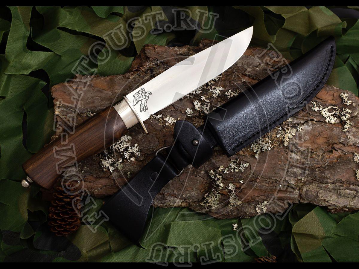 Волчонок-1. Рукоять орех. Сталь ЭИ-515