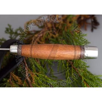 Легенда 2. Рукоять дерево. Алюминий. Сталь ЭИ-107