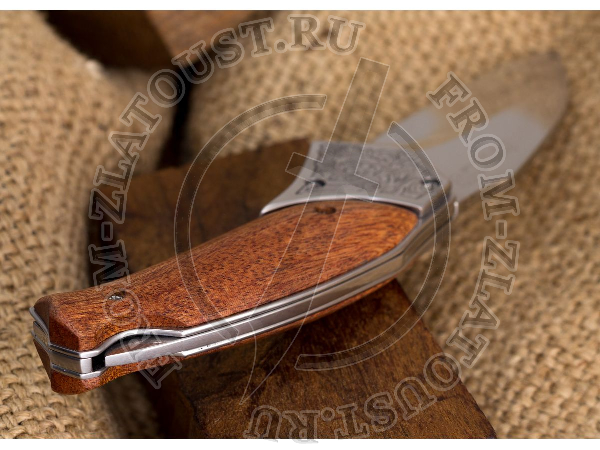 Косатка. Рукоять орех. Сталь ЭИ-107