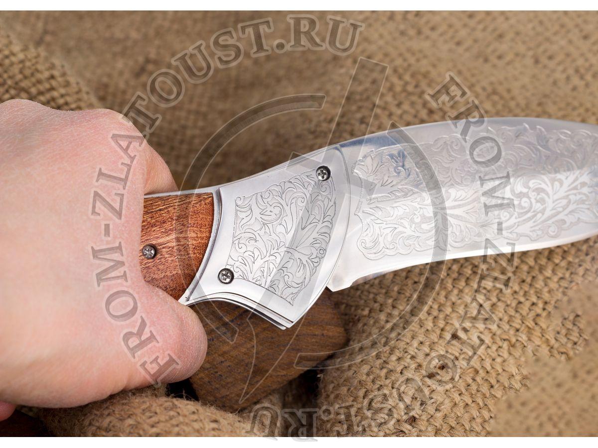 Питон. Рукоять орех. Сталь ЭИ-107