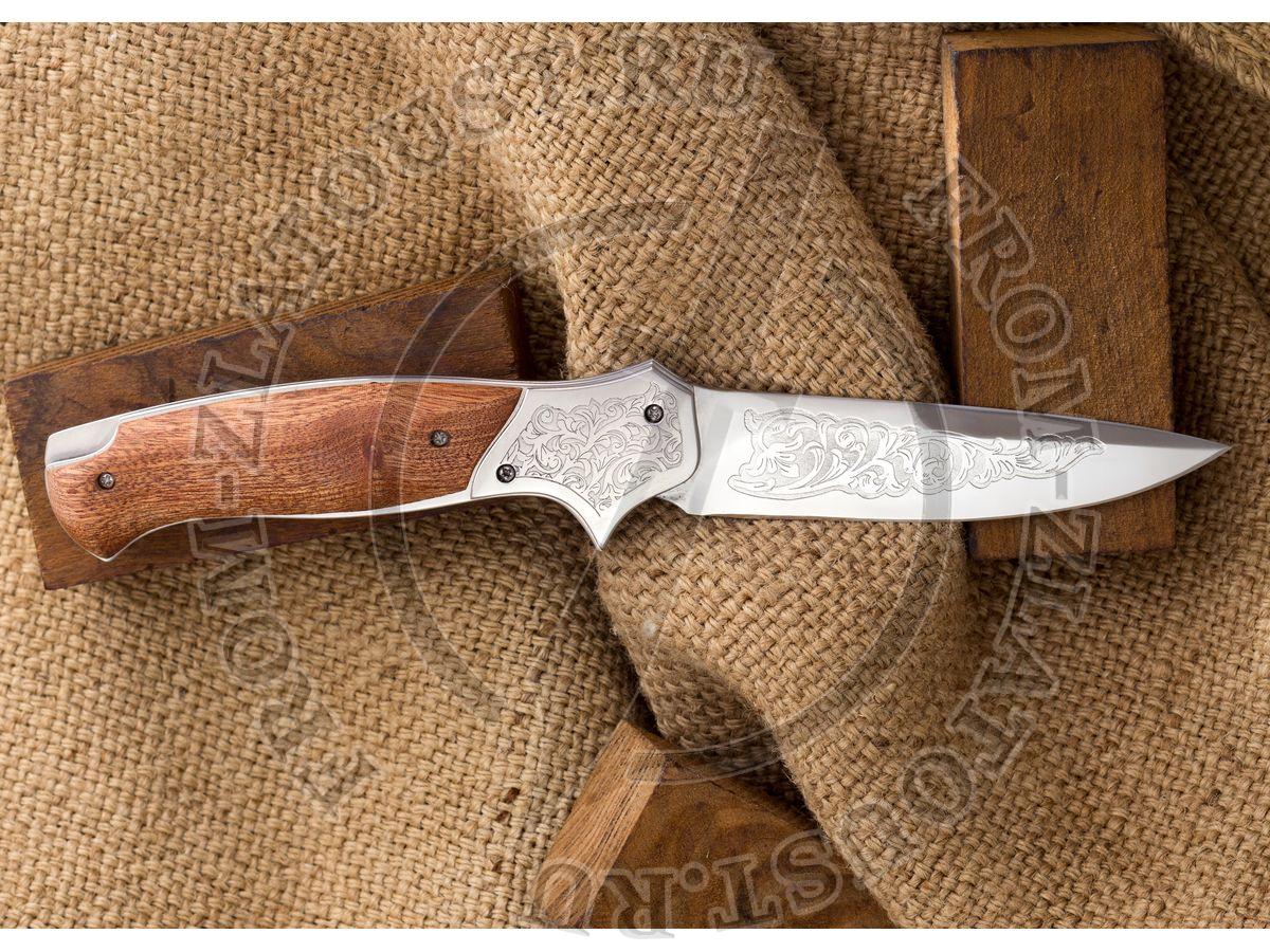 Якудза. Рукоять орех. Сталь ЭИ-107