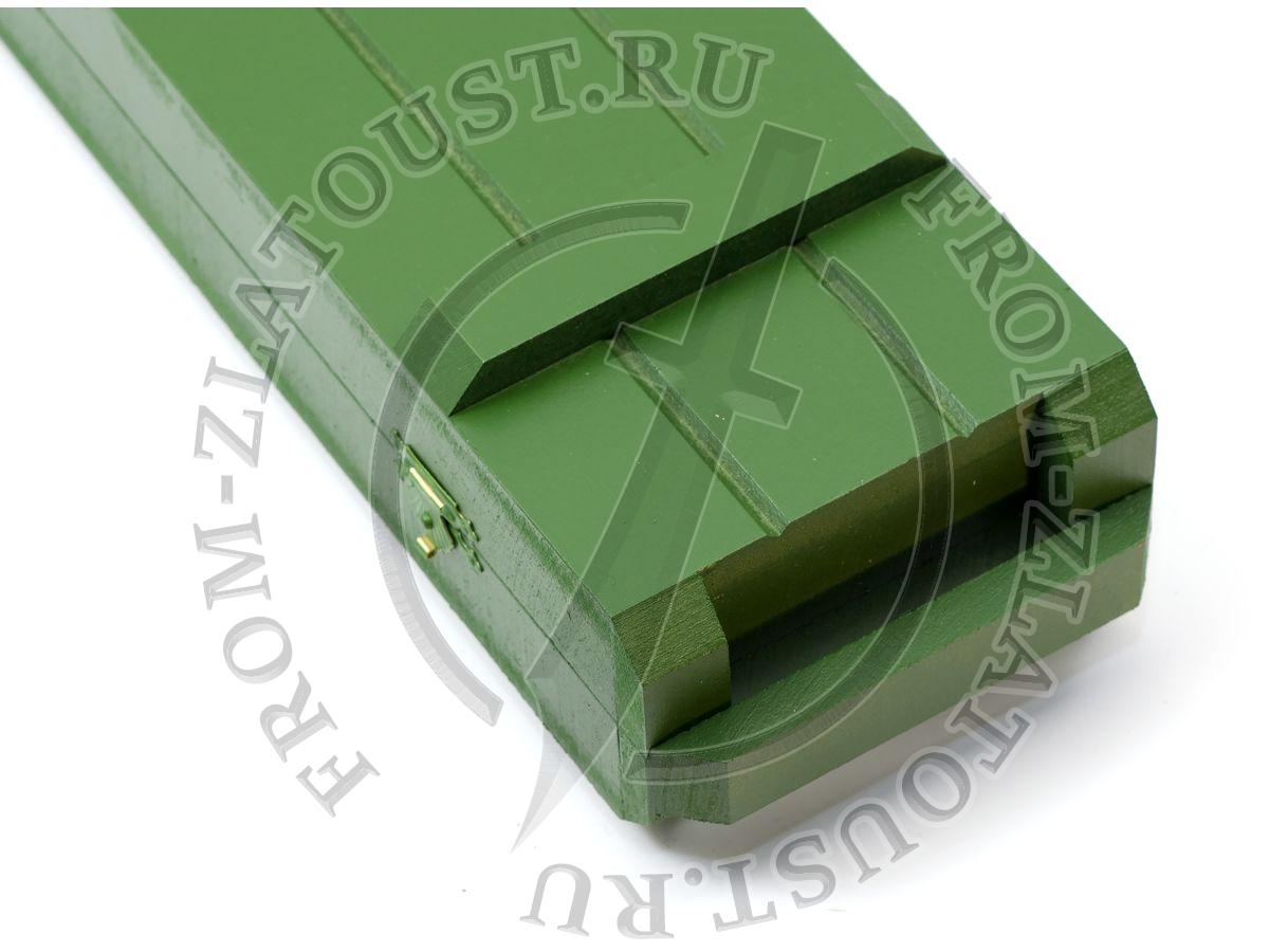 Коробка к танковому ножу
