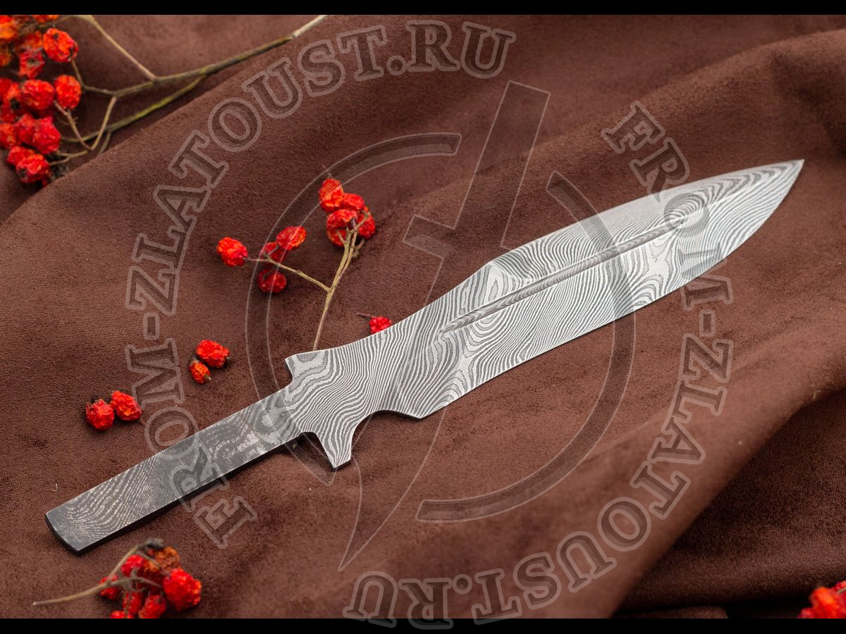 """Клинок """"Н21"""". Дамаск 65Г-Х12МФ1"""