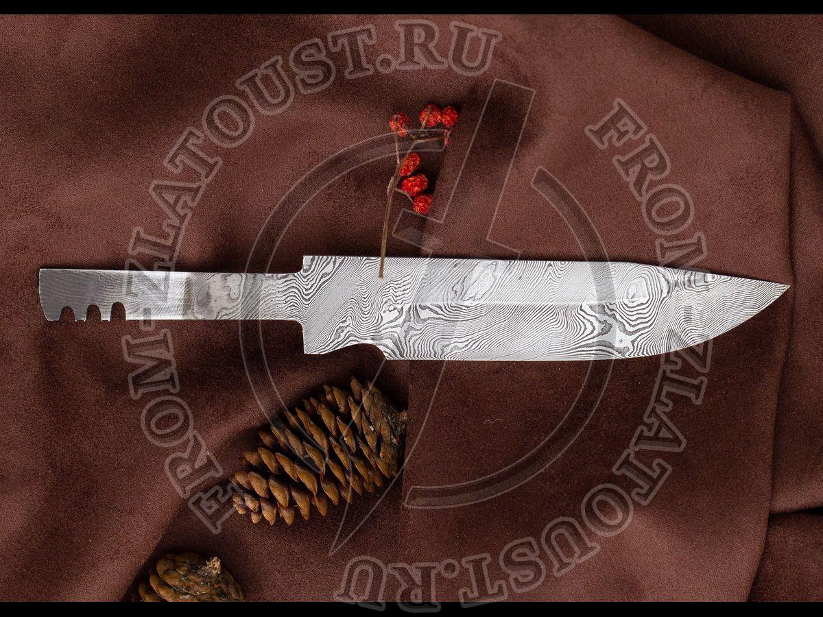 """Клинок """"Н33"""". Дамаск нерж. 40Х13-Х12М1Ф"""