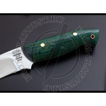НР37. Цельнометаллический. Стабилизированная карельская береза. Сталь ЭИ-107